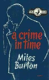 book cover of A Crime in Time