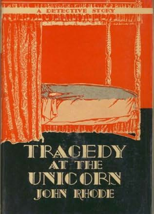 book cover of Tragedy At the Unicorn