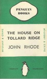 book cover of The House on Tollard Ridge