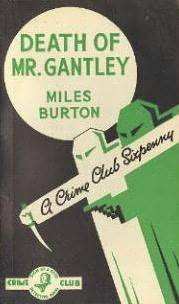 book cover of Death of Mr. Gantley