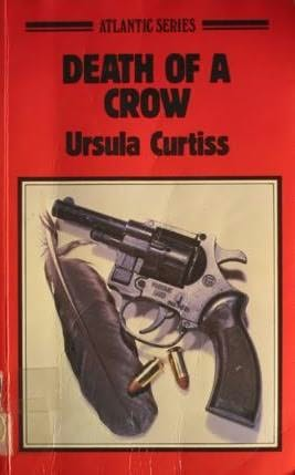 book cover of Death of a Crow