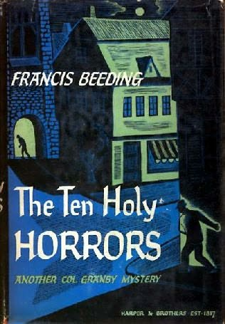 book cover of The Ten Holy Horrors