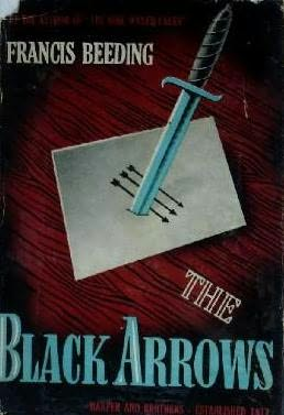 book cover of The Black Arrows
