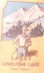 book cover of Larry of Lonesome Lake,