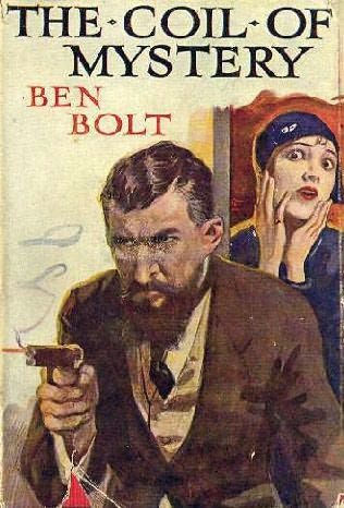 book cover of Coil of Mystery