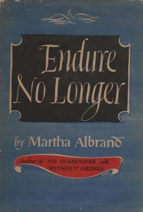 book cover of Endure No Longer