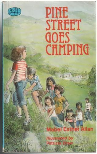 book cover of Pine Street Goes Camping