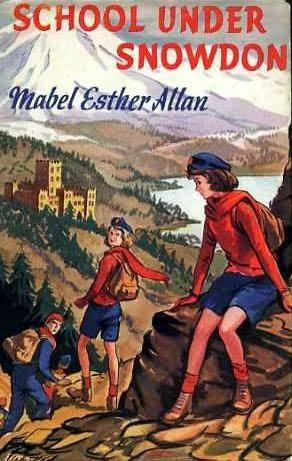 book cover of School Under Snowdon
