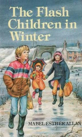 book cover of The Flash Children in Winter