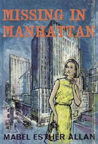 book cover of Missing in Manhattan