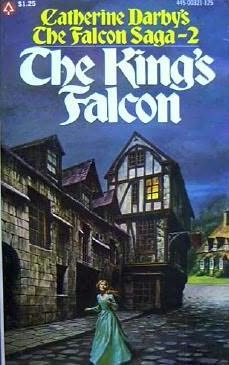 book cover of The King\'s Falcon