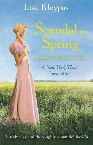 book cover of  Scandal in Spring   (Wallflowers, book 4) by Lisa Kleypas