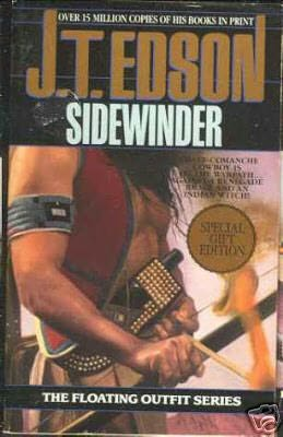 book cover of Sidewinder