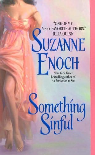 book cover of  Something Sinful   (Griffin Family, book 3) by Suzanne Enoch