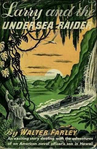 book cover of Larry and the Undersea Raider