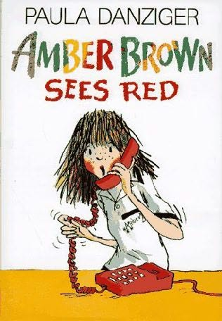book cover of Amber Brown Sees Red