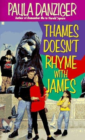 book cover of Thames Doesn\'t Rhyme With James