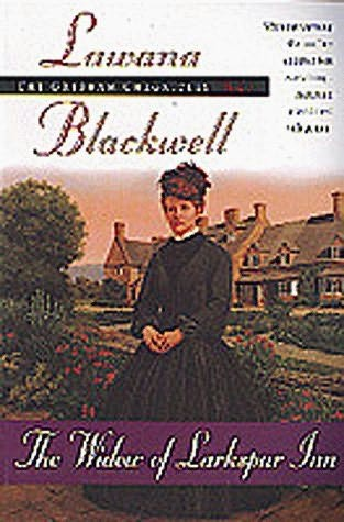 book cover of The Widow of Larkspur Inn
