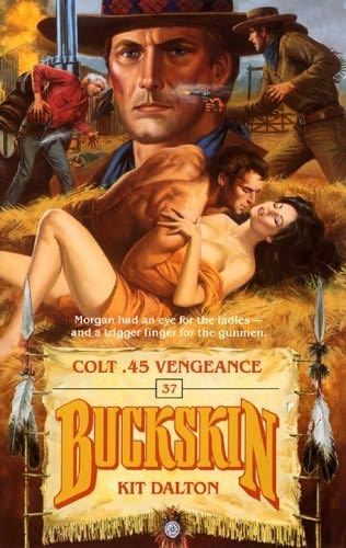 book cover of Colt .45 Vengeance