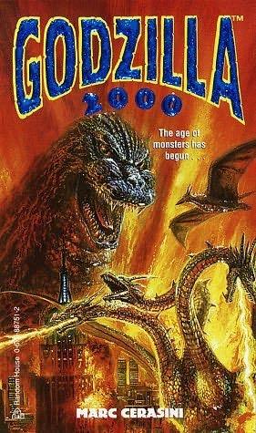 book cover of Godzilla 2000