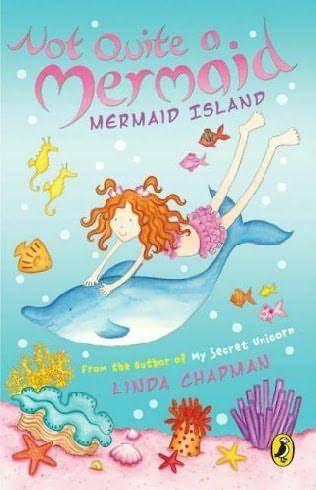 book cover of Mermaid Island
