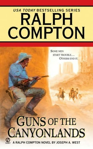 book cover of Guns of the Canyonlands