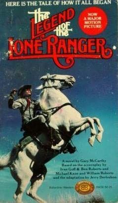 book cover of Legend of the Lone Ranger