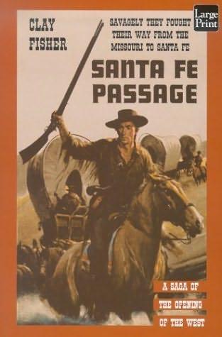 book cover of Santa Fe Passage
