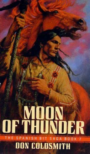 book cover of Moon of Thunder
