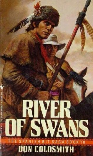 book cover of River of Swans