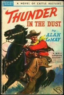 book cover of Thunder in the Dust