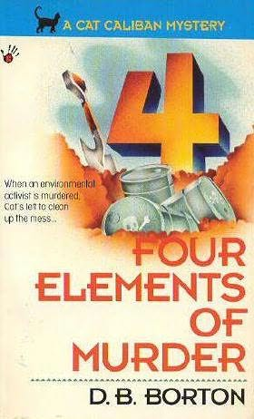 book cover of Four Elements of Murder
