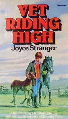 book cover of Vet Riding High