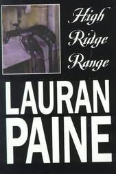 book cover of High Ridge Range