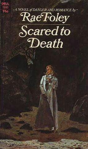 book cover of Scared to death