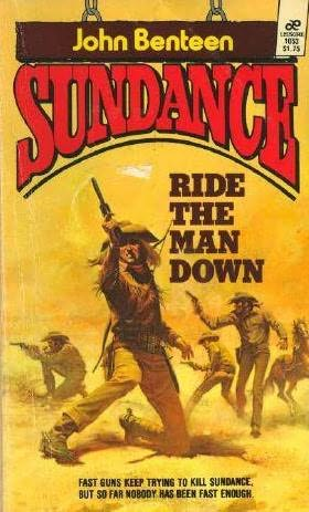 book cover of Ride the Man Down
