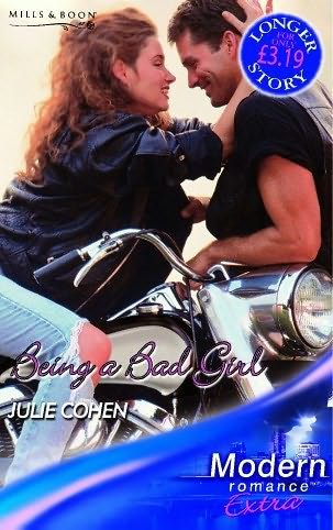 book cover of Being a Bad Girl