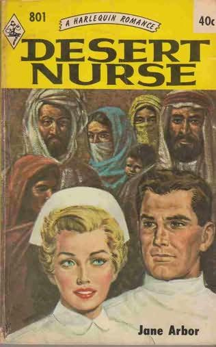 book cover of Desert Nurse