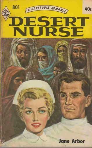 book cover of Desert Nurse