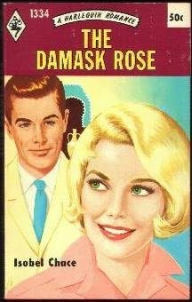 book cover of The Damask Rose