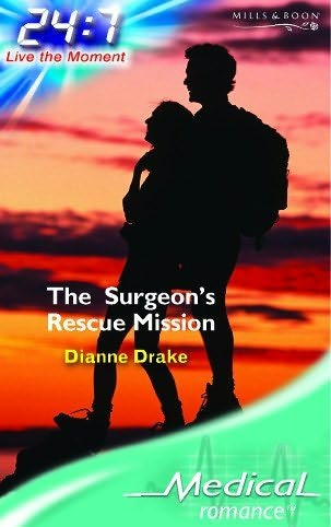 book cover of The Surgeon\'s Rescue Mission