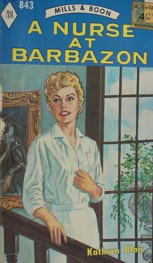 book cover of A Nurse at Barbazon