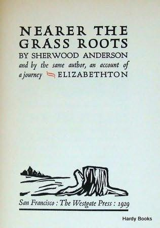 book cover of Nearer the Grass Roots