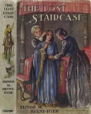 book cover of The Lost Staircase