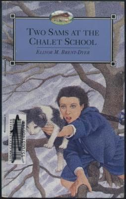 book cover of Two Sams at the Chalet School