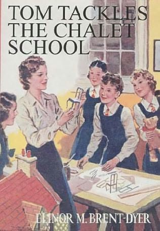 book cover of Tom Tackles the Chalet School