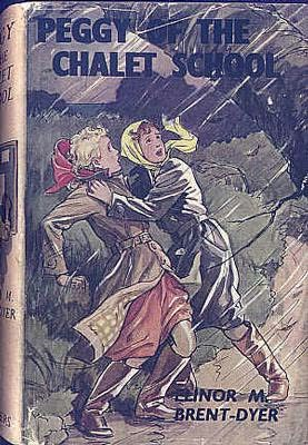 book cover of Peggy of the Chalet School