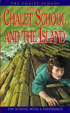 book cover of The Chalet School and the Island