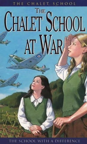 book cover of The Chalet School At War