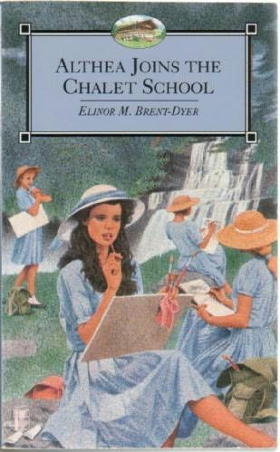 book cover of Althea Joins the Chalet School